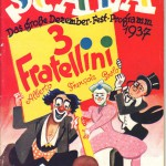 Scala Programmheft 1937 - Fratellini - Deckblatt