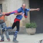 Show Superman mit Freiwilligem21