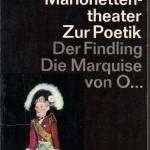 Kleist, Heinrich von - Über das Marionettentheater - Deckblatt