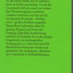 Mehnert, Henning - Commedia dell arte - Rückseite