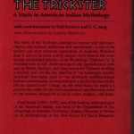 Radin, Paul - The Trickster - Rückseite